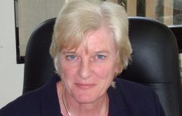 Phyl Rendell chair of the Falklands Offshore Hydrocarbons Environmental Forum