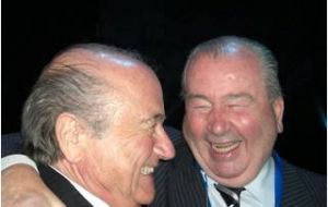 Blatter's right hand man Grondona in 2015 will have been at the helm of Argentine football for 36 years