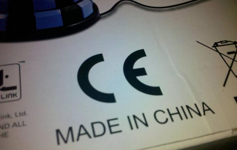 The EU is the main market for Chinese exports: 380bn dollars in 2010