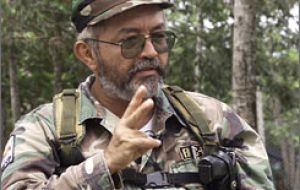 FARC commander Reyes travelled on several occasions to Libya and requested 100 million dollars