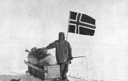 Norway's Amundsen, first man to reach the South Pole 14 December 1912