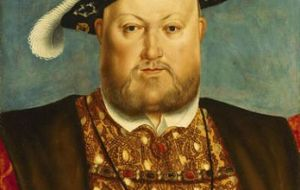 Turbulent times when Henry VIII broke with Rome in the mid- 16th century