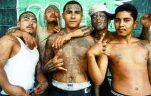 Gang warfare in El Salvador is the most common cause of violent deaths
