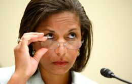 "Susan Rice, US ambassador to UN, said the UNESCO move was ""no substitute for negotiations"""