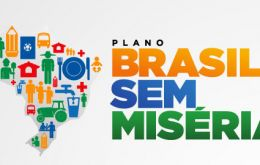 "The program started by Lula da Silva is now called ""Brazil without misery"""