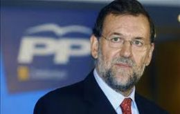 Rajoy would have sufficient seats in parliament without the need of alliances with smaller parties