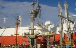 Cargoes are to be delivered mainly at the floating Bahia Blanca re-gasification plant