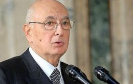 President Giorgio Napolitano swore in the 16-member government