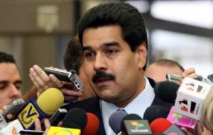 Venezuelan Foreign Affairs minister Nicolas Maduro made the announcement