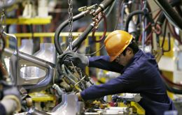 In China manufacturing activity was down and the US economy grew less than anticipated
