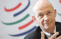 Pascal Lamy, trade has slowed considerably in recent months