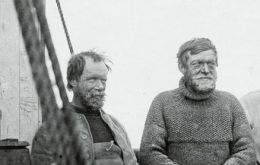 Frank Wild and Shackleton's descendents will be present at the ceremony