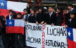 The six month students' protests indicate that 'something smells rotten…in Chile'