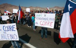 Unusual rain and labour unrest disrupted mining in the world's leading copper producer