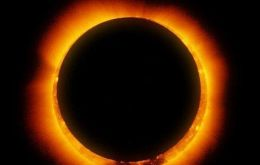 The eclipse will be visible at sunrise in South Africa and at sundown in Tasmania and south NZ