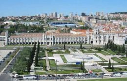 Lisbon, once the head of a global empire, now capital of a bankrupt small country