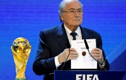 Delegates from the 208 member association in future would vote for the host countries of World Cups promised the FIFA chief