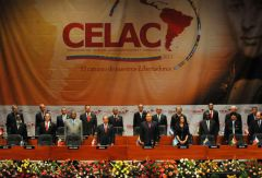 CELAC specifically excludes the US and Canada and is geared to replace OAS