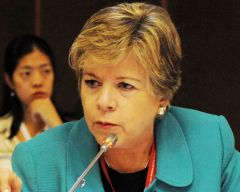 Alicia Barcena, ECLAC Executive Secretary
