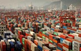 The Chinese economy is highly dependent on exports