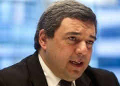 Central bank president Bergara, waiting for third quarter figures