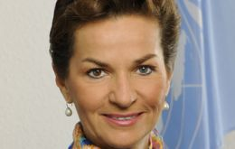 Christiana Figueres expressed surprise at Ottawa's decision