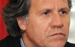 Luis Almagro plans to meet UK Ambassador Mullee next Wednesday