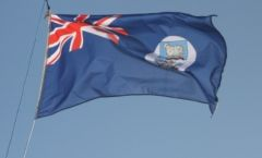 The Falklands flag banned from Uruguayan ports