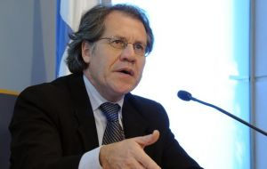 """Uruguay adopted a political decision"" and is not turning back said Almagro"