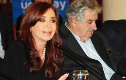 The Argentine president officially takes the Mercosur chair for six months
