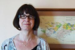 Cheryl Roberts, chair of the Falkland Islands Fishing Companies Association