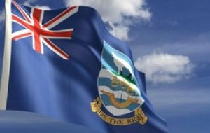 The crux of the matter is an accepted definition for the Falklands' flag