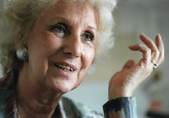 "Estela de Carlotto: ""all is fine with Cristina, but what about a different government?"""