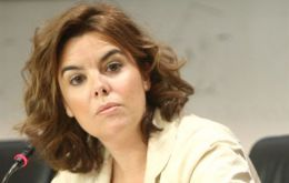 Deputy PM Soraya Saenz Santamaria headed the table that made the announcements