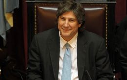 Vice-President Boudou will act as caretaker president for at least three weeks