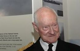 First Sea Lord Admiral Henry Leach was later decisive in convincing Thatcher to send the Task Force to recover the Falklands