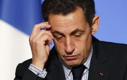France faces the worst crisis since World War II, Sarkozy told his fellow countrymen