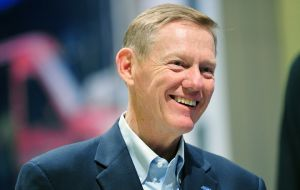 Ford CEO Alan Mulally has his eyes set on the Indian market
