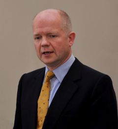 Foreign Secretary William Hague: the decision to close ports to ships flying the Falklands flag has no legal basis.