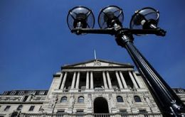 Bank of England left rates at 0.50% and maintained the £ 275 billion stimulus plans