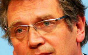 FIFA General Secretary, Jerome Valcke currently visiting Brazil