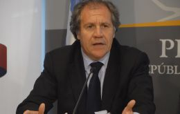 Foreign Affairs minister Luis Almagro is hopeful of a full incorporation