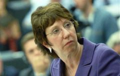 Catherine Ashton, High Representative of the EU for Foreign Affairs and Security Policy