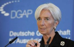 Lagarde trying to make Athens's debt sustainable (Photo AP)