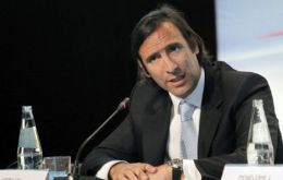 Lorenzino said Argentina has sufficient reserves to address to prevent speculative attacks
