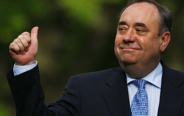 First Minister Alex Salmond, the most exiting years of modern Scotland