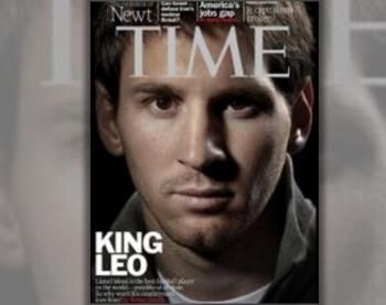 King Leo'makes the cover of this week's TIME magazine but not ...