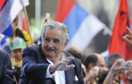 President Mujica has greater support among young voters than from his generation
