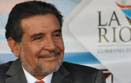 La Rioja Governor Luis Beder Herrera campaigned against the project but once elected turned around
