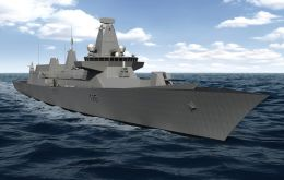The Type-26 frigate to replace the 13 Type-23 frigates dating to 1989, only begins in early 2020